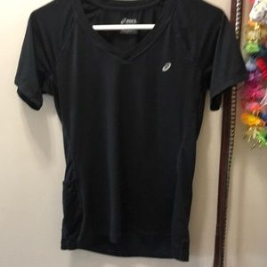 ASICS Stretch Dryfit Workout Tee Top